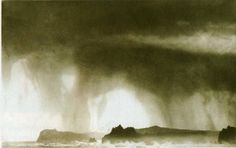 One of our exhibiting artists in the Power of the sea! Norman Ackroyd