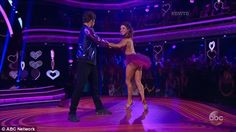 Youngest dancer: Jake T. Austin, 21, competed with new pro dancer Jenna Johnson