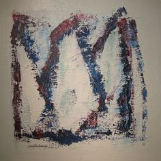 Maleri Seil 80x80 cm