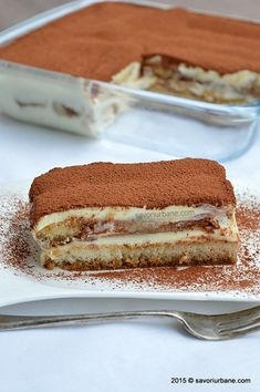 Tiramisu-reteta-clasica (15) Cooking For A Crowd, Something Sweet, Cheese, Cream, Ethnic Recipes, Desserts, Cake Rolls, Food, Sweet Treats