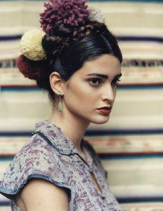 frida kahlo inspired by sarah maingot