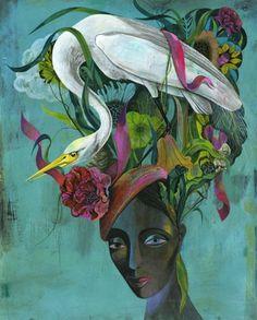 A whole range of beautiful surrealist works.