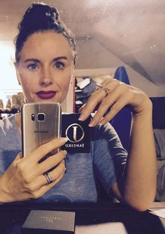 Carolina in the Janesko Runway Bar ring. #janesko #jewelry #kc #modern #ring #madeintheusa