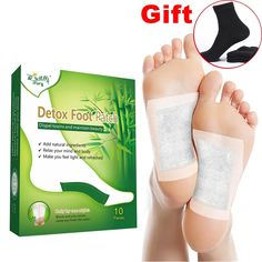 Buy Cheap 20pcs Bamboo Vinegar Foot Patches Improve Sleep Feet Stickers Pedicure Tools Callus Remover Weight Loss Help Medical Equipment For Improving Blood Circulation Beauty & Health