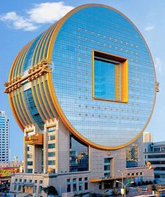 Fang Yuan Building in China - Architecture and Urban Living - Modern and Historical Buildings - City Planning - Travel Photography Destinations - Amazing Beautiful Places Unusual Buildings, Amazing Buildings, Modern Buildings, Futuristic Architecture, Beautiful Architecture, Interior Architecture, Building Architecture, China Architecture, Creative Architecture