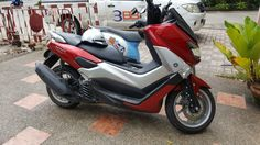This trip we had Yamaha NMAX Scooter to get around on in Patong