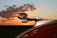 *1940 Dodge Ram Hood Ornament.  I liked the looks of the trucks with these on them.
