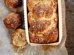 Vuokaleipä No Salt Recipes, Tasty, Yummy Food, Deli, Bon Appetit, Scones, Banana Bread, French Toast, Rolls