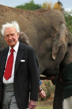 Bob Barker paid nearly 1 million dollars to transport three elephants from a zoo to a sanctuary.