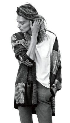 Daria Werbowy for Mango Winter 2014 Catalogue | Winter Fashion