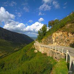Serra de Estrela Natural Park. #portugal #serradaestrela #naturalpark #nationalpark #scenic #view #panorama