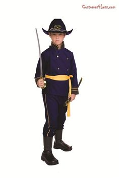 Child Union Officer Costume