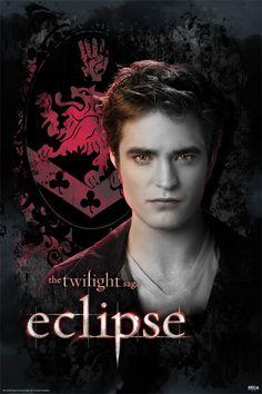 Dazzled By Twilight| The Twilight Saga Eclipse Poster - Edward - Cullen Crest