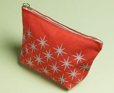 Stenciled Pouch - Project | Plaid Online
