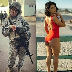 Consider, army girls dressed then undressed opinion