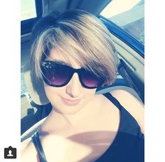 Selfie from one of Lorraine's clients #color #haircut #pixiecut #shorthair #hair