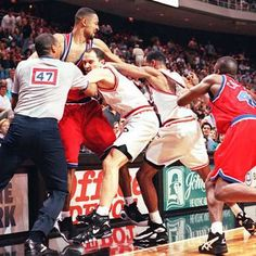 The Biggest Basketball Brawls and Fights in NBA History