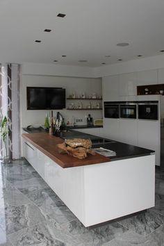 Haus Hu0026M: Moderne Küche Von AL ARCHITEKT