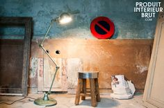 Lampadaire Jieldé Loft Vert Vespa - lampe jielde - Un luminaire iconique du design industriel du milieu du XXème siècle