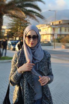 Hijab outfit winter Sofia Abad