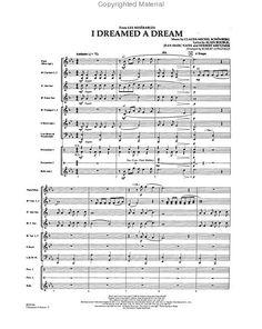i dreamed a dream sheet music | Dreamed A Dream Les Miserables Piano Sheet Music
