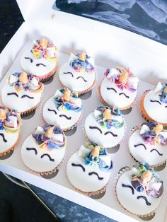 Unicorn Cupcakes I want someone to make these for me??!;)