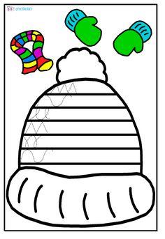 Pracovní list - zimní čepice