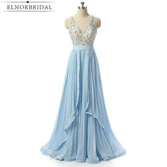 Cheap prom dresses Buy Quality sheer prom dresses directly from China prom dresses Suppliers: Light Sky Blue Sheer Prom Dresses 2017 Sexy Robe De Soiree Longue Sheer Imported Party Dress Formal Women Evening Gowns Gorgeous Prom Dresses, Unique Prom Dresses, Prom Dresses 2017, Formal Dresses For Women, Dress Formal, Prom Gowns, Pretty Dresses, Ball Gowns, Sequin Evening Dresses