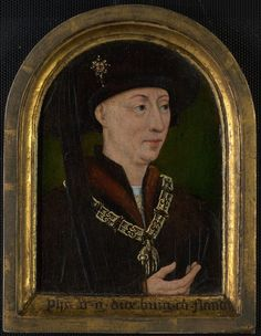 Flemish Philip the Good, Duke of Burgundy; Isabelle of Bourbon (?), c. 1520/30
