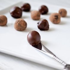 Recipe: Stout Truffles Rolled in Pretzels or Bacon | Good Food