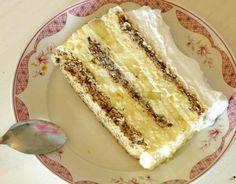 Torta sa bananama i plazma keksom Croatian Recipes, Albanian Recipes, Bosnian Recipes, Bosnian Food, Gourmet Recipes, Sweet Recipes, Baking Recipes, Dessert Recipes, Torte Recepti