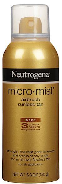 Review, Ingredients: Neutrogena MicroMist Airbrush Sunless Self Tan — Safe, Effective Tanning Alternative