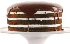 "Guinness Chocolate Cream Layer Cake | Irish Central ~ '""Let them eat cake!"" A delicious Irish twist to a luscious chocolate sponge cake.'"