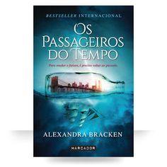 Sinfonia dos Livros: Novidade Marcador | Os Passageiros do Tempo | Alex...