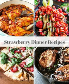 Strawberry Recipes f
