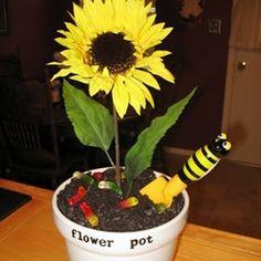 Sunflower dirt cake
