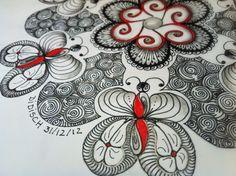 LOTS of Didisch artwork - Google site   Zentangle - Doodles