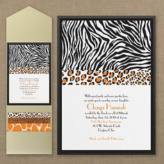 Animal Prints - Layered Pocket Invitation      40% OFF     http://mediaplus.carlsoncraft.com/Parties--Celebrations/Bar--Bat-Mitzvah-Invitations/3125-BAN14423PBI-Animal-Prints--Layered-Pocket-Invitation.pro