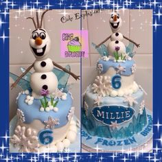 Olaf the snowman from Disney's Frozen