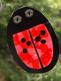 ladybird suncatchers