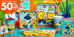 Despicable Me Party Supplies - Despicable Me Birthday - Party City