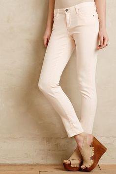 AG Stevie Ankle Jeans Tan Silt #anthroregistry