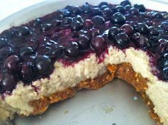 Blueberry Cheesecake #justeatrealfood #cavemengourmet