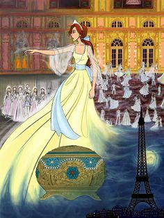 Disney Anastasia, Anastasia Broadway, Anastasia Movie, Princess Anastasia, Animated Movies For Kids, Disney Animated Films, Disney Princess Art, Disney Art, Animation Film