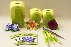 Paper Blossom Punches and Flower Making Tools from McGill
