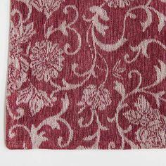 Louis De Poortere Rugs Vintage 8985 Antwerp Red buy online from the rug seller uk Jacquard Loom, Patchwork Designs, Lavender Color, Antwerp, Free Uk, Delivery, Pure Products, Rugs, Purple