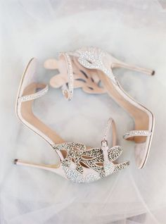 These beauties are by SERGIO ROSSI. Wear them on your big day or even out on a fancy date night!