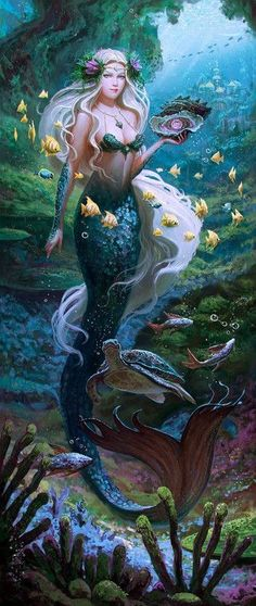 New fantasy art mermaid sirens 35 ideas Mermaid Artwork, Mermaid Drawings, Mermaid Paintings, Art Drawings, Mermaid Fairy, Mermaid Tale, Mermaid Pics, Manga Mermaid, Dark Mermaid