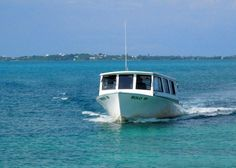 About the ferries beside our little house in Green Turtle Cay, Abaco, Bahamas