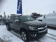 2015 Chevy Colorado Schwab Custom Truck!! Comes equipped with Black Emblems, Tonneau Cover, GM Off-Road Running Boards and, Chrome Exhaust Tip!! This truck sold to one lucky lady!! #schwabchevrolet